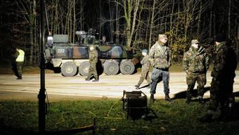 Panzerunfall auf dem Waffenplatz Bure