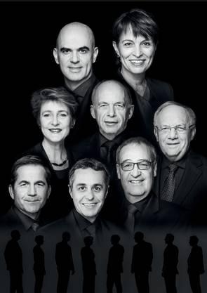 Das neue Bundesratsfoto mit Ignazio Cassis