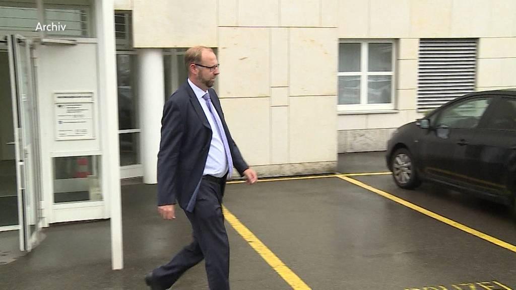 Untersuchung gegen Staatsanwalt Simon Burger