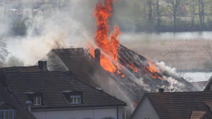 Am 24. April 2010 brach am frühen Nachmittag ein Brand im Rebstock aus.