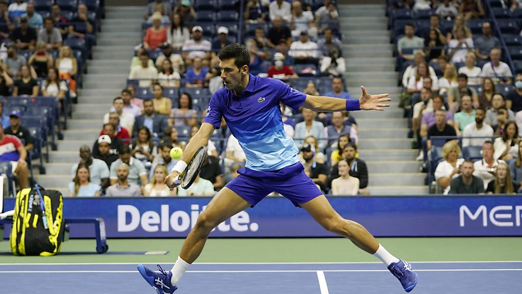 Novak Djokovic kämpft um die Gunst des New Yorker Publikums