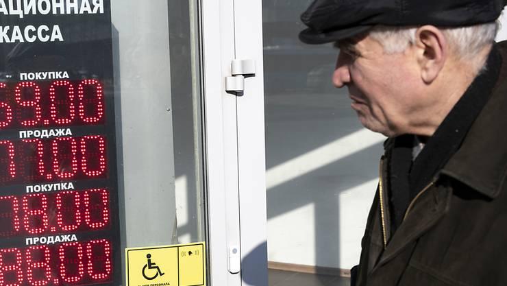 In der russischen Hauptstadt Moskau dürfen ältere Menschen nur noch in Ausnahmefällen auf die Strasse gehen. (Symbolbild)