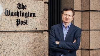 Glenn Kessler vor dem Gebäude der «Washington Post»: Er ist der Faktenchecker des Blattes.
