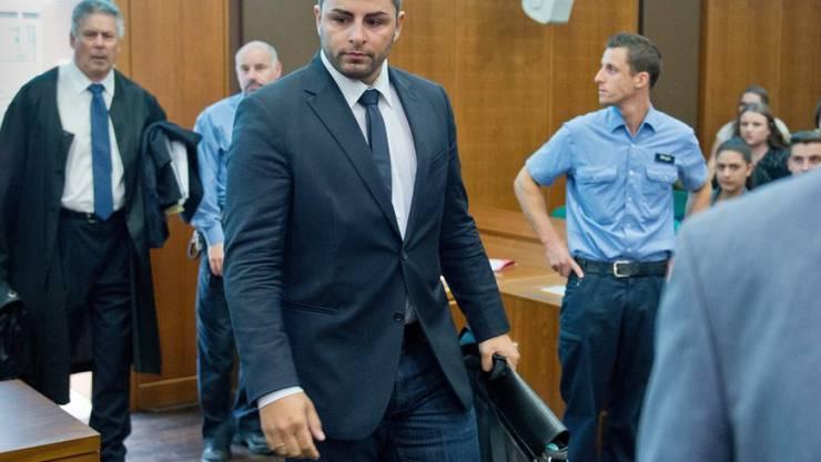 Glück gehabt: Betrüger und DSDS-Sieger Severino Seeger muss nicht ins Gefängnis (Keystone)