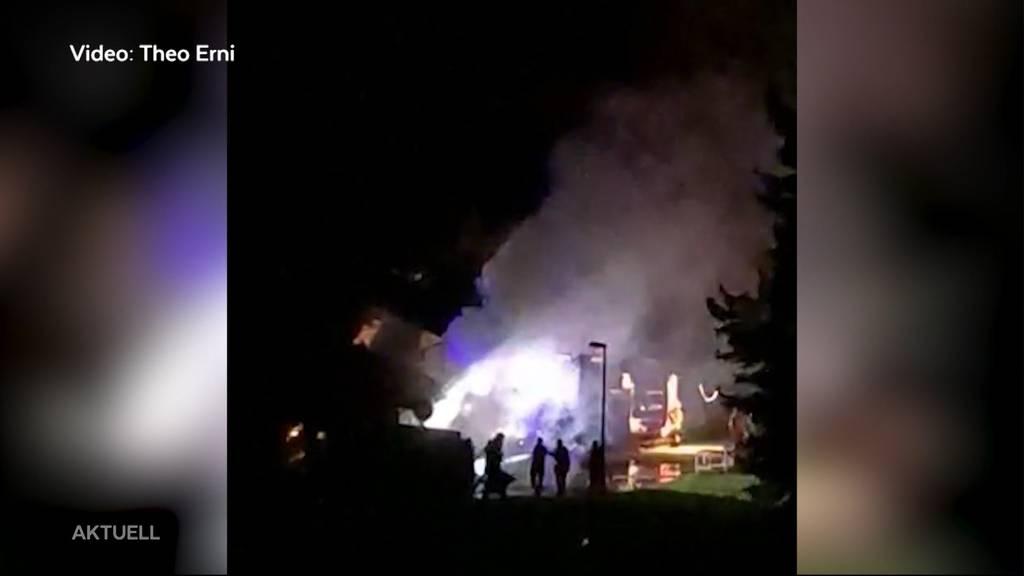 Auto-Brand in Windisch: Polizei vermutet Brandstiftung