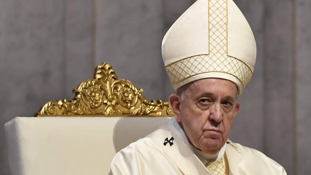 Papst verurteilt Erstürmung des Kapitols in Washington