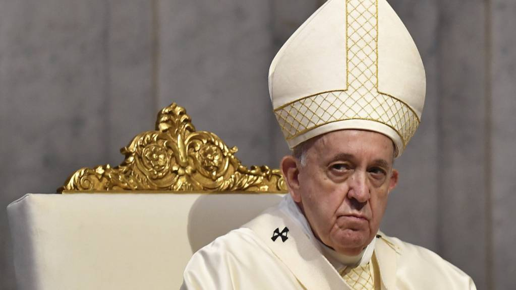 ARCHIV - Papst Franziskus kritisiert die Vorfälle in Washington. Foto: Tiziana Fabi/AFP Pool/AP/dpa