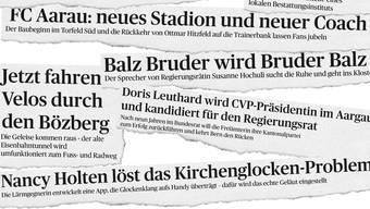 Das waren unsere fiktiven Schlagzeilen aus der Ausgabe vom 31. Dezember 2015.