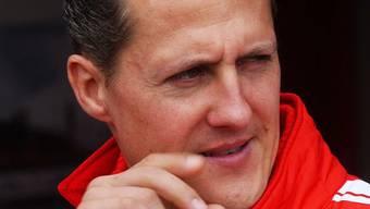 Ein Bild aus vergangenen Tagen: Michael Schumacher.