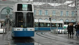 Das neue Zürcher Flexity-Tram
