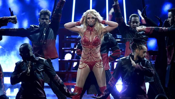 Mindestens ebenso freizügig wird ihre Show an den MTV Video Music Awards wohl sein: Britney Spears an den Billboard Music Awards in Las Vegas. (Archivbild)