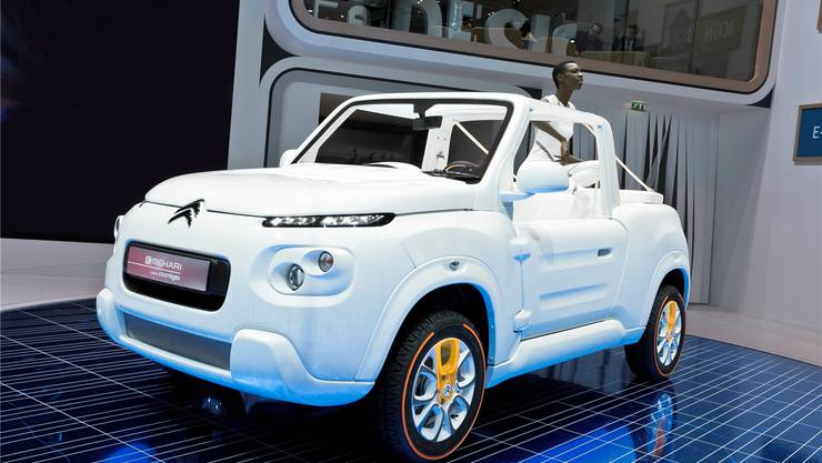 Citroën setzt mit dem e-Méhari auf Retro-Charme. Fotos: HO