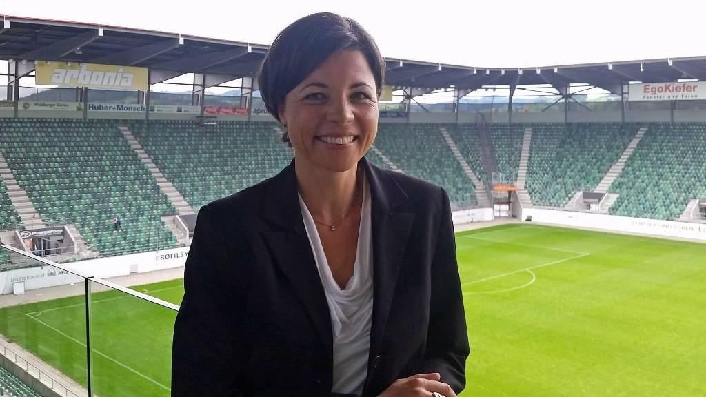 Brigitta Mettler ist neue Präsidentin der FCSG Frauen und erste Frau im Verwaltungsrat der FC St.Gallen AG.