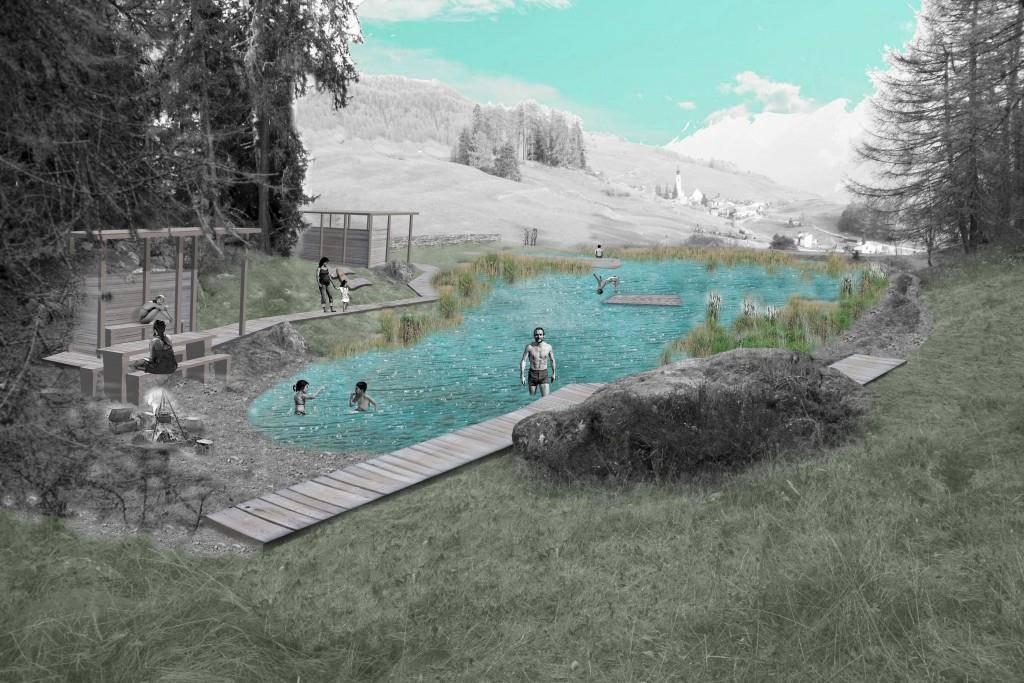 Der Badesee soll ein Naherholungsgebiet werden (© Hariyo GmbH)