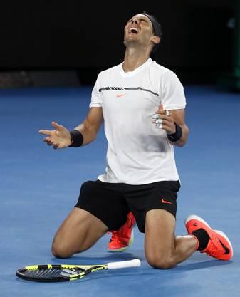 Das Final heisst: Roger Federer vs. Rafael Nadal.