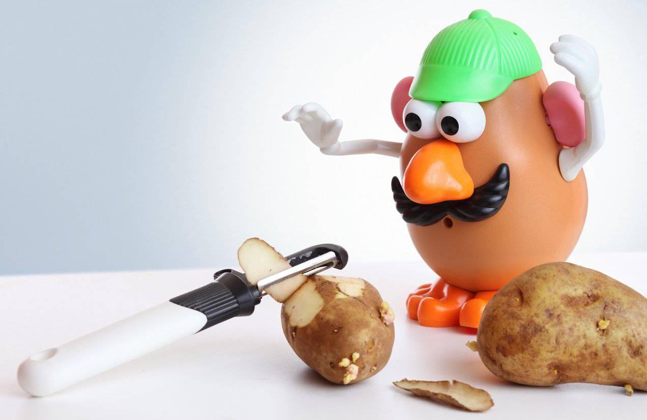Mr. Potato Head hatte in «Toy Story» einen Gastauftritt. (Bild: iStock)