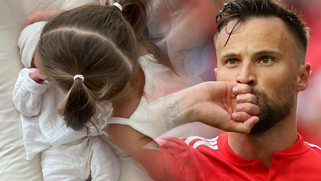 Der Schweizer Natispieler Haris Seferovic wurde zum zweiten Mal Vater.