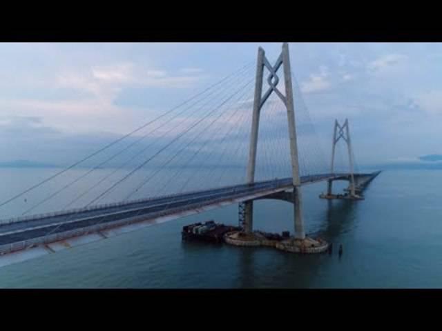 Für 14 Milliarden: Chinas Brücke der Superlative wird bald eröffnet