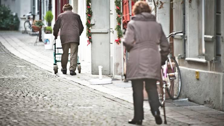 In Erlinsbach leben 34,9 Senioren pro 100 Erwerbstätige. Das ist fast doppelt so viel wie in Brunegg. (Symbolbild)