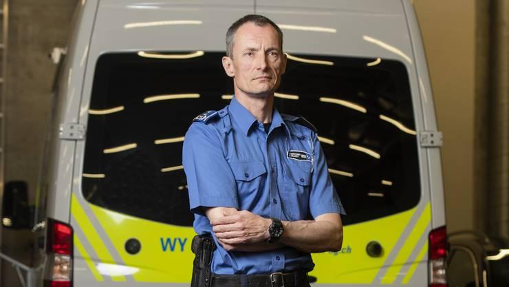 Die Polizistinnen und Polizisten standen wegen Covid-19 vor neuen Herausforderungen.