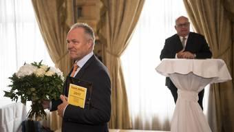 Der Spitzenkoch Felix Suter erhält die Ernennung zum Gault-Millau «Aufsteiger des Jahres 2017».