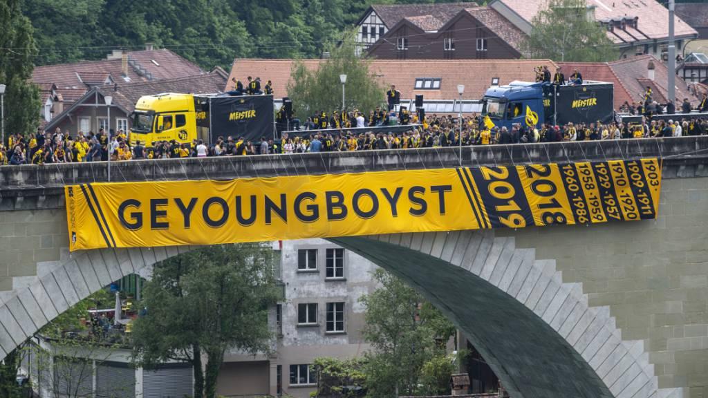 Auseinandersetzungen zwischen Fussballfans in Bern