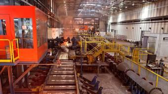 Das Stahlwerk Gerlafingen muss um das Überleben ringen
