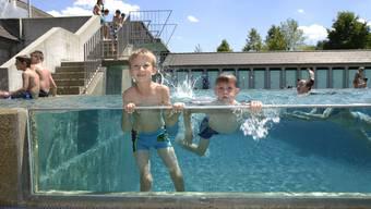 Rückblick in eine durchzogene Saison: Hier in der Badi Solothurn.