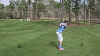 11-Jähriger eröffnet Golfplatz von Tiger Woods mit Hole-in-One