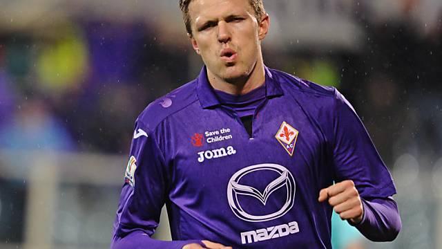 Josip Ilicic erzielte für Fiorentina das 1:0
