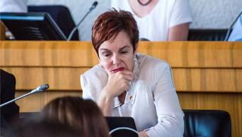 Unter Druck: Auch mehrere Landräte kritisierten gestern Monica Gschwinds Lobby-Arbeit in Bundesbern.