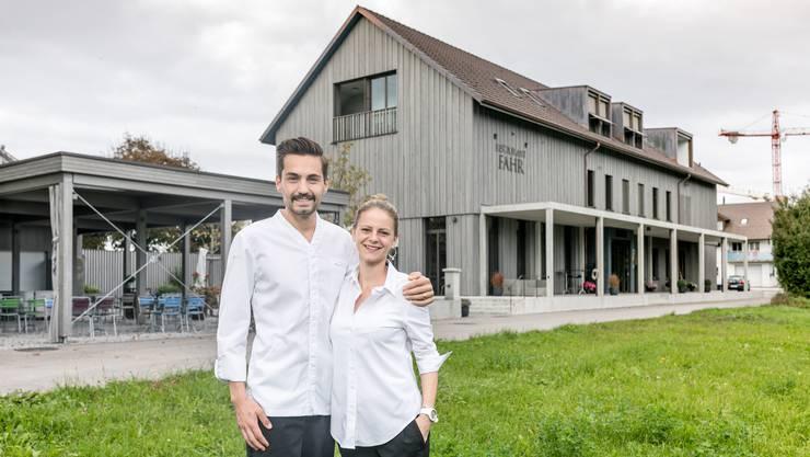 Manuel und Alexandra Steigmeier vom Restaurant Fahr erhielten vom «Gault Millau» 15 Punkte.