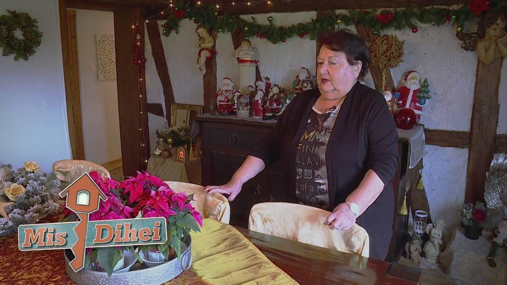 In Lisbeths Dihei wachen die Weihnachtsengel über das WC