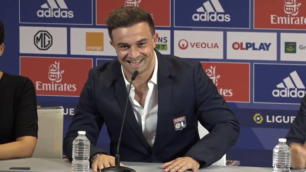 Nati-Star Shaqiri bei Olympique Lyon vorgestellt: «Wir müssen den Club dorthin bringen, wo er hingehört»