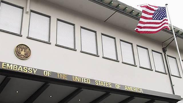 Die US-Botschaft in Bern (Archiv)