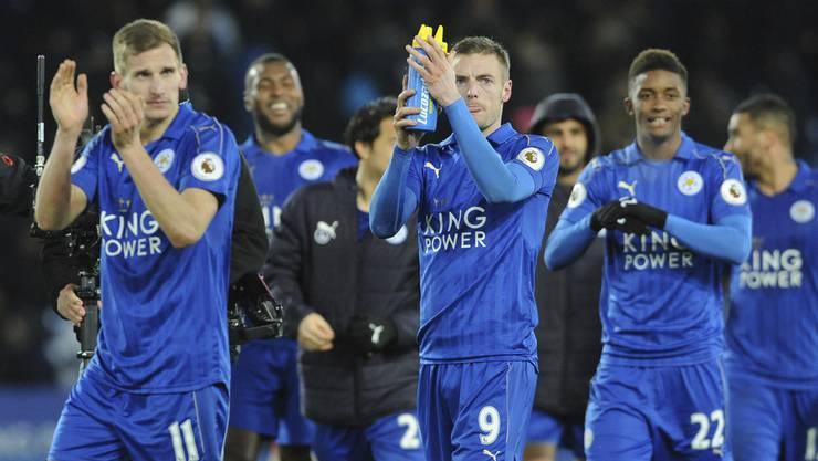 Leicester City kann sich gegen Sevilla für den Viertelfinal der Champions League qualifizieren.