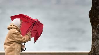 In der Schweiz soll es am Sonntag starke Windböen geben. (Symbolbild)