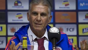 Carlos Queiroz wurde in Bogota vorgestellt