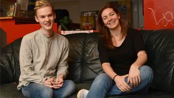 Yannick Frommherz und Saskia Lüdi, Leiter bei «anyway», sind stolz darauf, dass der Jugendtreff mittlerweile zu einer Institution geworden ist.