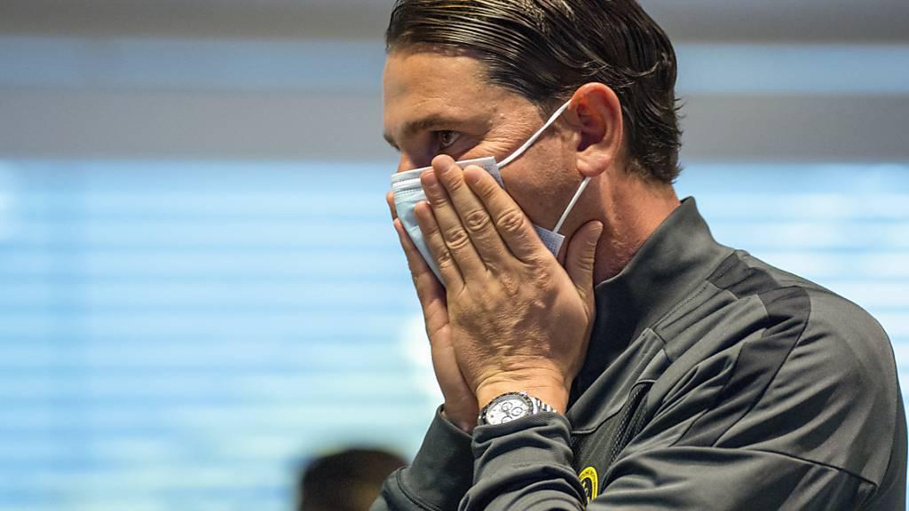 Selbst eine konsequent umgesetzte Maskenpflicht im Stadion konnte Trainer Gerardo Seoane und die Young Boys nicht vor dem Entscheid der Kantonsregierung bewahren