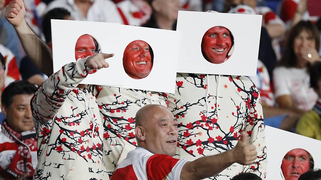 Japanische Rugby-Blüte in den Tagen der Tragödie