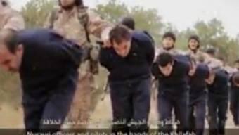 Spuren führen zum IS - Deren Terroristen mit syrischen Gefangenen