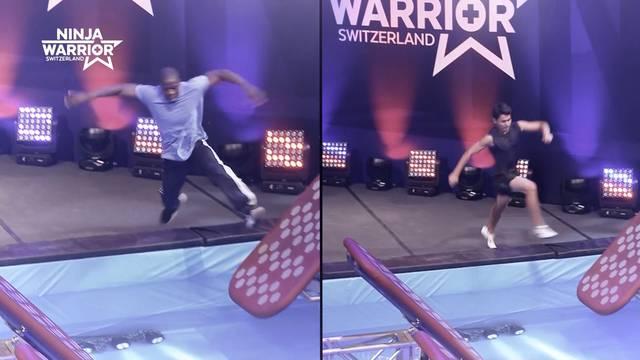 Die kürzeste Ninja-Warrior-Teilnahme der Welt