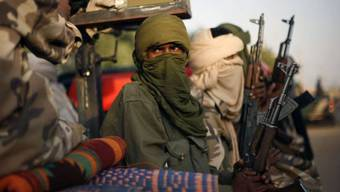 Kampfbereite Tuareg in Nordmali (Archiv)