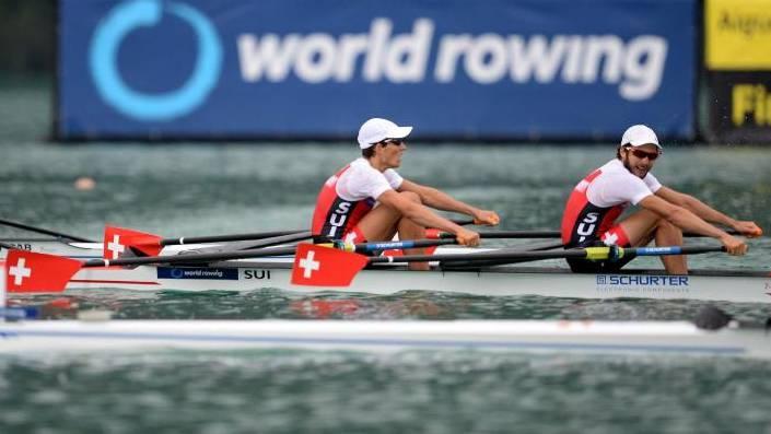 Daniel Wiederkehr und Michael Schmid wollen mit einer starken Halbfinal-Performance die Olympia-Qualifikation sichern.
