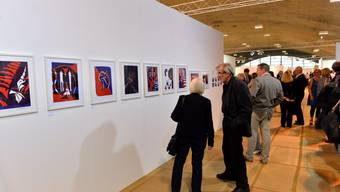 Vernissage der 20.Triennale in Grenchen