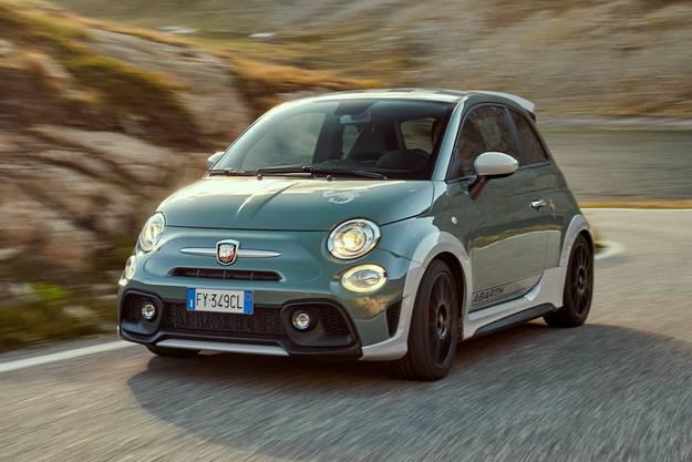 2019 ziert der Name von Carlo Abarth noch die schnellsten Fiat-Modelle wie die Jubiläumsausgabe, den Abarth 695 Anniversario. Bilder: zvg