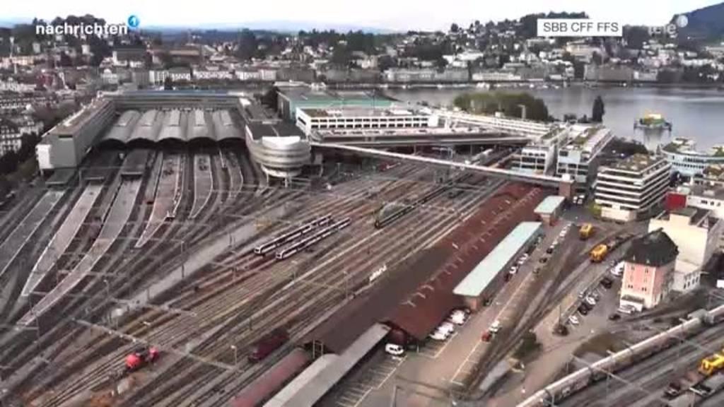 Weiterentwicklung Rösslimatt am Bahnhof Luzern