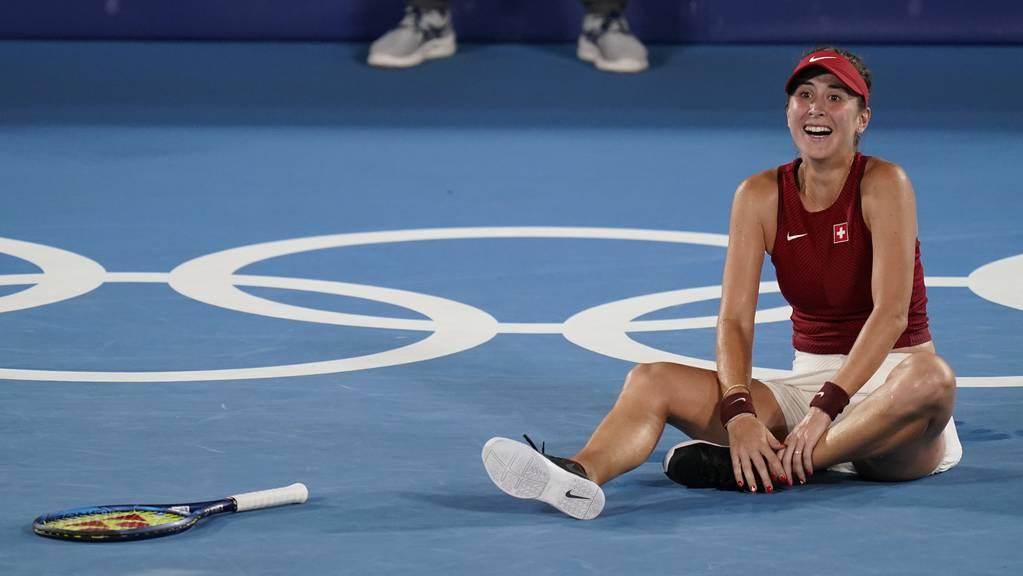 Was für ein Kampf, was für ein Sieg! Belinda Bencic kürt sich in Tokio zur Olympiasiegerin.