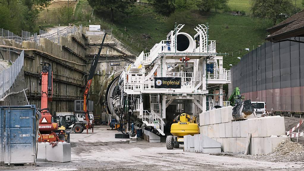 Implenia erhält Grossauftrag für Bau einer Bahnstrecke in Norditalien (Symbolbild)
